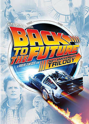 Back to the Future 30th Anniversary Trilogy New DVD! Ships Fast!