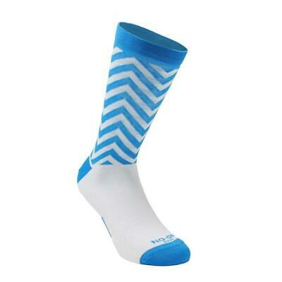 Stockings Technical Sports Long Breathable Antibacterial No-On White/Blue