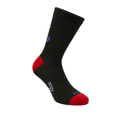 Stockings Technical Sports Long Breathable Antibacterial No-On Anchor Black