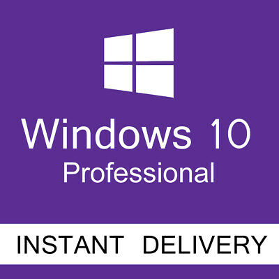 Microsoft Windows 10 Professional pro Product Key license activation + software