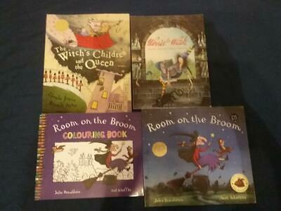 Teaching Story Resource Room on the Broom by Julia Donald & other Books For Sack