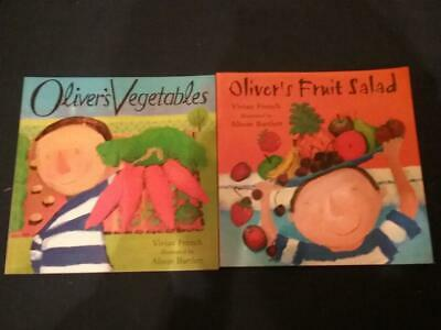 Teaching Story Resource Oliver's Vegetables & Fruit Salad Books For Sack