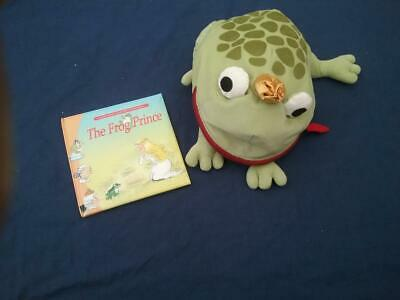 Teaching Story Resource The Frog Prince Book & Toy For Sack