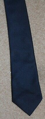 John Lewis Navy Blue Slim Tie - Brand New With Tags - 3 Available