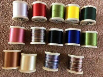 Job Lot Of Madeira Rayon Cotton Sewing Thread Embroidery Needlework