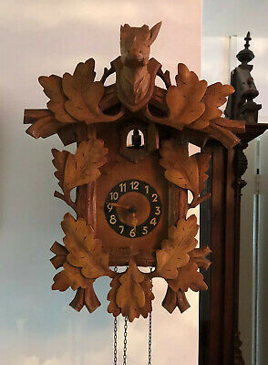 Vintage Wooden Cuckoo Clock Spares Repairs