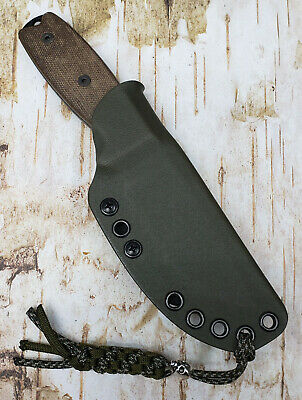 "HAND MADE KYDEX SHEATH for ONTARIO RAT 3 KNIFE, G-CLIP FOR 1 1/2"",  ONKY802"