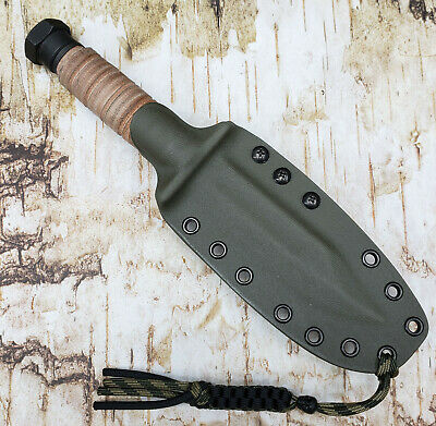 HAND MADE KYDEX SHEATH for ON499 AIR CREW SURVIVAL KNIFE , DOTS-LOK, ONKY804