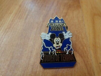 Disney 2005 Trading Pins - Twilight Zone Tower Of Terror Mickey Mouse Badge