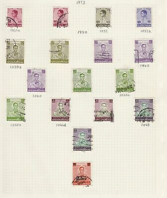 thailand stamps page ref 16894