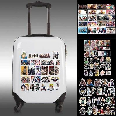 100Pcs My Hero Academia Anime Sticker Phone Sticker Laptop Luggage Stickers Gorg