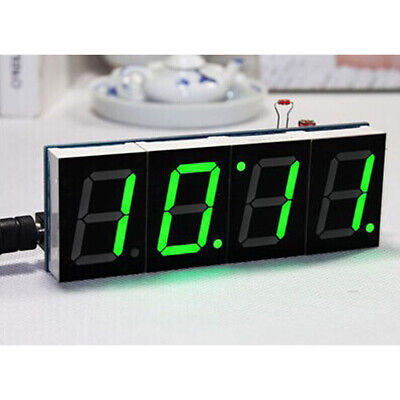 Electronic 3in1 Car Auto Digital LED Time Voltmeter Thermometer Clock Module HI