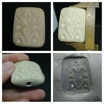 Mind blowing Sassanian stone stamp seal unseen intaglio