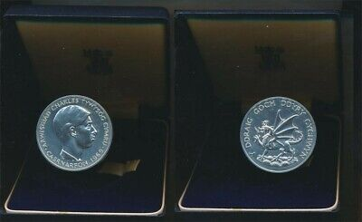 Great Britain 1969 Prince of Wales Investiture 45mm Silver Meal in Official Case