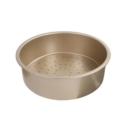 Non-Stick Deep Dish Pizza Pan 8.7inch Pie Baking Tin Perforated Plate