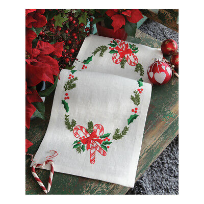 ANCHOR | Embroidery Kit: Christmas Candy -  Runner | 92400003530