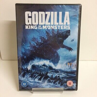 Godzilla King Of The Monsters DVD - New and Sealed Fast and Free Delivery