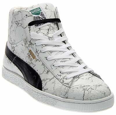 Puma State Mid x Alife Mens Trainers Hi Shoes Leather Black Lace 360134 01 D129