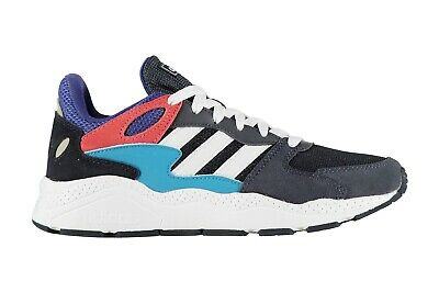 adidas Mens Crazychaos Trainers Sports Shoes Navy Blue Pink