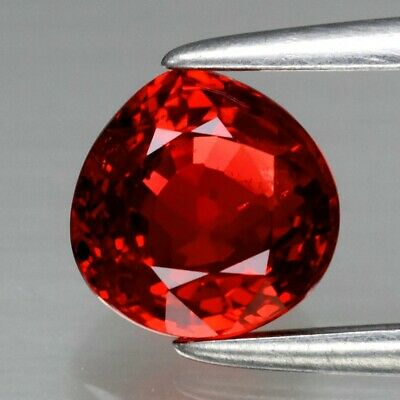 VS 1.00ct Pear Natural Red Ruby Songea, Tanzania