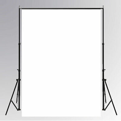 Solid White Studio Photography Background Photo Backdrop Props 3*5ft/5*7ft