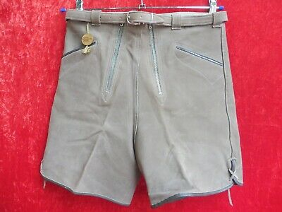 hochwertige Lederhose , Gr. 42 / 76 , Made in Germany , kurze Hose , Lavano