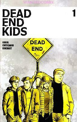 Dead End Kids #1 2Nd Ptg Second Print Frank Gogol Source Point Press Comic Book