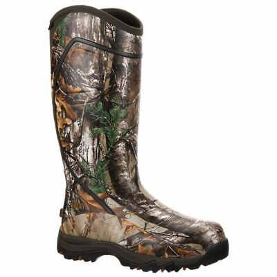 Rocky Core Waterproof Insulated Rubber Boots Outdoor Hunting  Boots Camo Mens -
