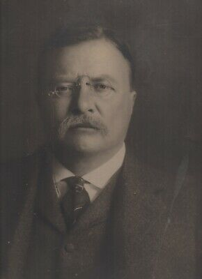 1905 Mammoth Size Photo of President Theodore Roosevelt