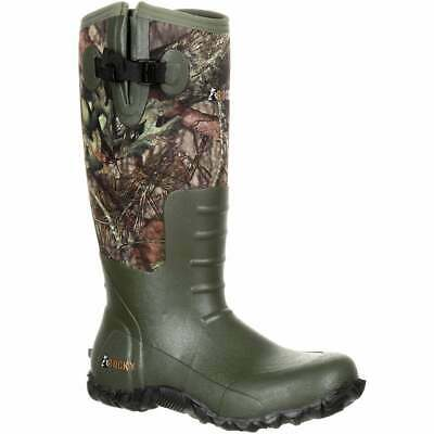 Rocky Core Rubber Waterproof Outdoor  Boots Outdoor   Boots - Camo - Mens