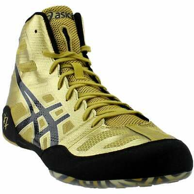 ASICS JB Elite  Athletic Wrestling  Shoes - Gold - Mens