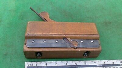Vintage Draw Bottom / Grooving Wooden Moulding Plane.By Master