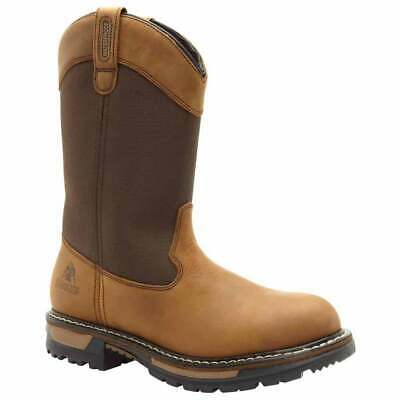 Rocky Ride Insulated Waterproof Wellington Boots Outdoor Hunting  Boots Brown