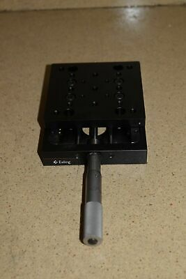 """EALING POSITIONING MOTION CONTROL MICROMETER STAGE 4""""x 4"""" (#2)"""