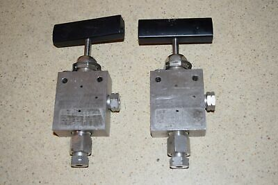 ^^ Autoclave Engineers 30Vm4882 30,000 Psi - Lot Of 2