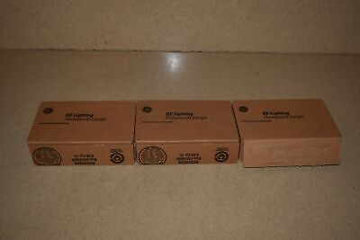 ^^ Ge Lighting Fluorescent Lamps Type 19355 - 3 Boxes - 15 Total (Fg)