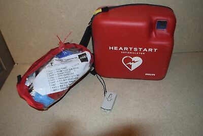 ^^ Philips Fr2+ Heart Start W/ First Aid Kit (Ee)
