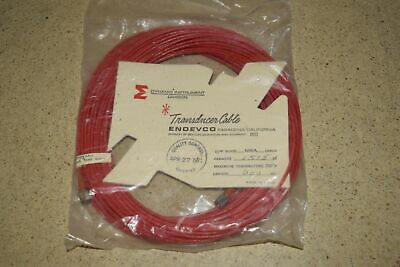 """ENDEVCO 3090A- 600"""" - 1515pF 500˚F ACCELEROMETER CABLE- NEW (#40)"""