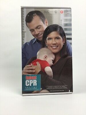 AHA Infant CPR Anytime Personal Learning Program with Manikin, DVD, Course Kit