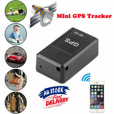 Magnetic Car Spy Tracking Device Real Time Mini GSM GPS Tracker GPRS Locator