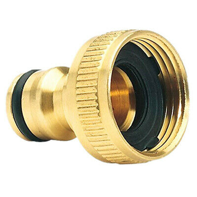 Practical Brass Garden Hose Tap Connector (3/4) Quick Hose Adaptor Accessories