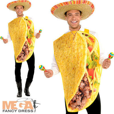 Mexican Tortilla Guy Fancy Dress Stag Costume