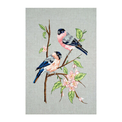 ANCHOR | Embroidery Kit: Bullfinches | PE651
