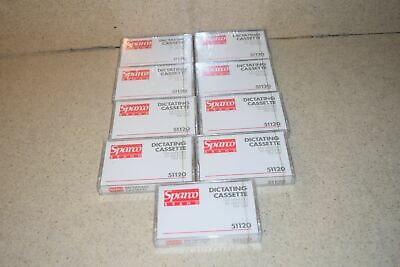 ^^ Sparco 51120 Dictating Cassette- Lot Of 9- New