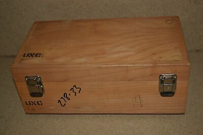 "WOOD HARD EQUIPMENT CARRYING CASE - 12X6X3"" INSIDE (9i)"
