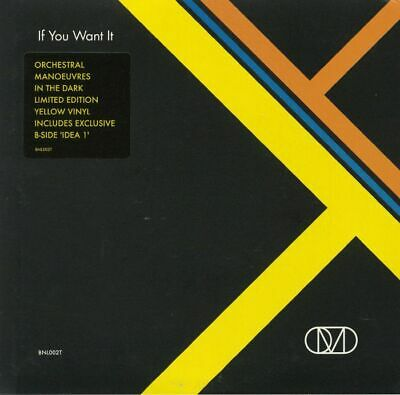 """ORCHESTRAL MANOEUVRES IN THE DARK - If You Want It - Vinyl (7"""")"""