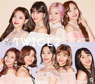 New TWICE 2 Limited Edition CD Type A & Type B & Regular 3 version SET JAPAN