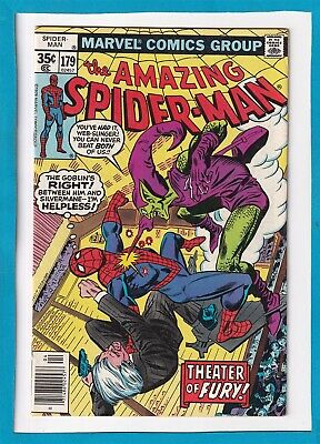 Amazing Spider-Man #179_April 1978_Very Fine_Return Of The Green Goblin Part 4!