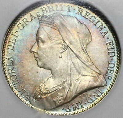 1893 NGC MS 66 Victoria 4 Pence Maundy Mint State Great Britain Coin (19101602C)
