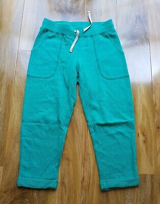 Mini Boden Girls COTTON CROPPED GREEN Bottoms SIZE 10 YEARS BRAND  NEW